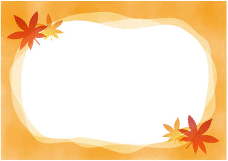 Autumn leaves background/vector