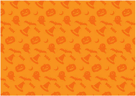Halloween background material / vector