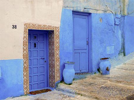 Porte azzurre