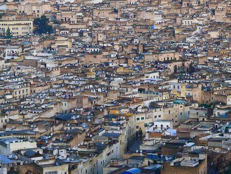 Fez, in Marocco,le sue paraboliche