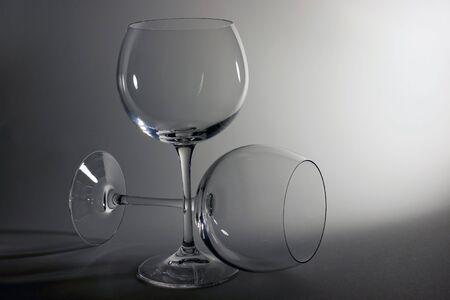 Dos glasies de cata en cristal puro