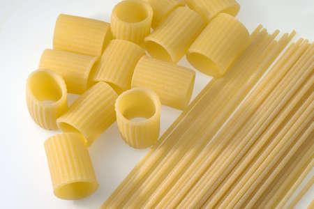 spaghetti and macaroni