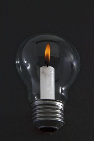 electric utility: Energy efficient light bulb