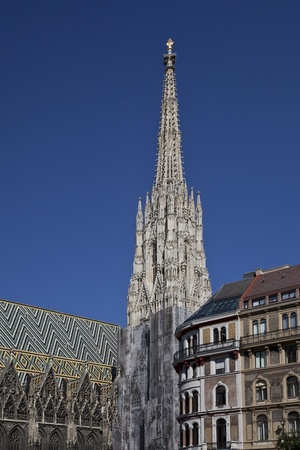 St. Stephens Cathedral in Vienna photo