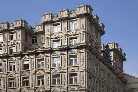 luxury building in Budapest