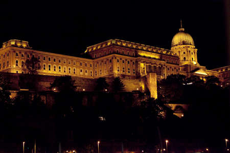night vision: Night Vision from the Danube in Budapest