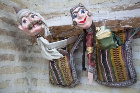 Puppets in Uzbekistan photo