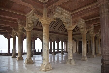 The hindu architecture, columns