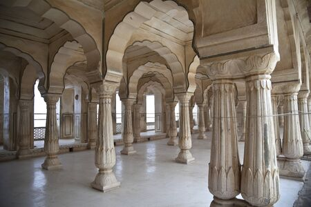 Columns arabic style in India