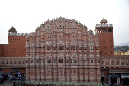 Royal palace in India, the palace of the wind
