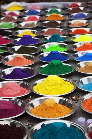 The colors of India in the market