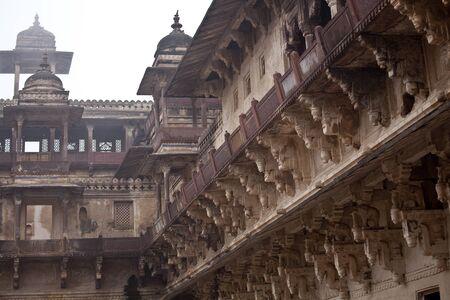 Royal palace in India