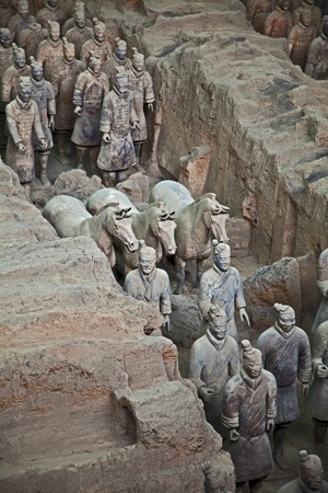 the terracotta army photo