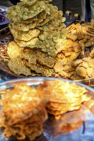 Myanmar, food market Stock Photo - 17831580