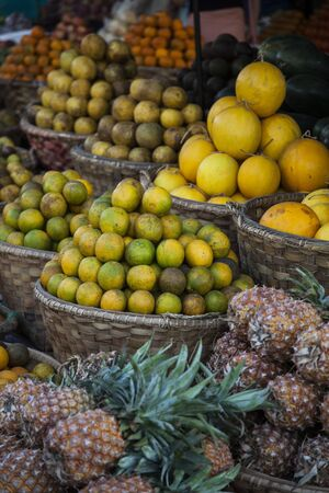 Myanmar, fruit at the market Stock Photo - 17831583