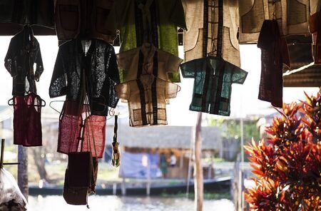 Myanmar, outdoor market Stock Photo - 17831575