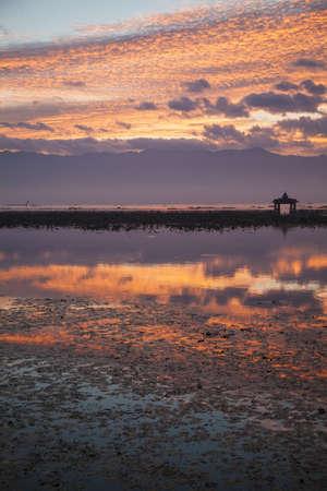 inle: Myanmar, Inle Lake, sunrise Stock Photo