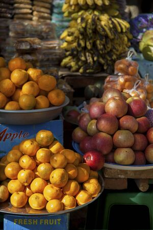 fruit and vegetable market in Myanmar Stock Photo - 17831918