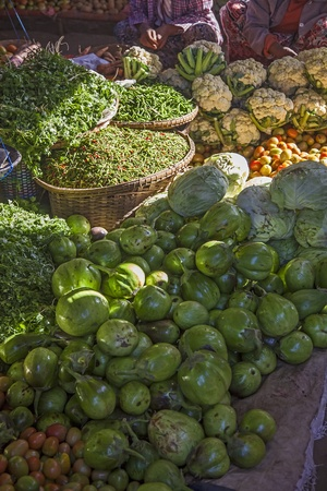 Myanmar market for fruit and vegetables Stock Photo - 17831773