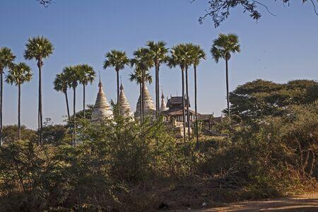 Myanmar  ancient temple Stock Photo - 17831544