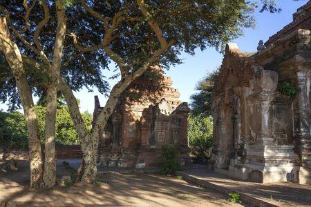 stupas: Myanmar  archaeological site, stupas Stock Photo