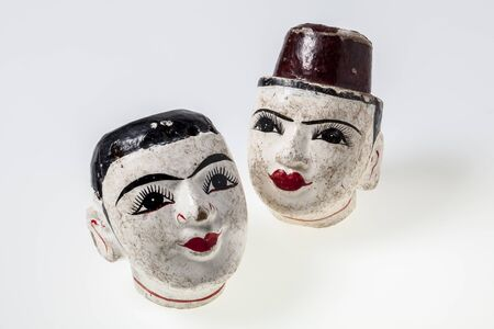antique puppets of Myanmar Stock Photo - 18082166