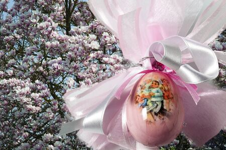 Easter, decorated egg Stock Photo