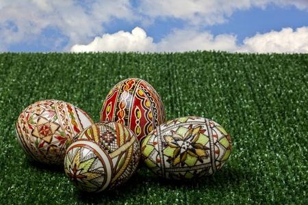 Pascua, huevos de la festividad