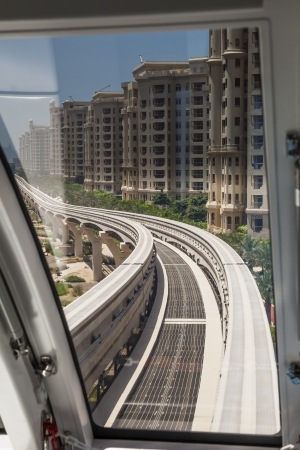Monorail in Dubai photo