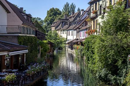 Casas t�picas en Alsacia, Francia