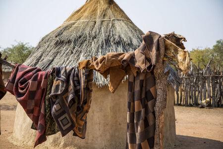 indigence: Himba village in Namibia, Africa