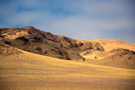 Panorama en Namibia, �frica Foto de archivo