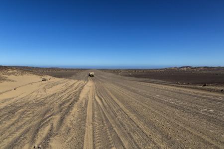 ナミビア、アフリカの砂漠