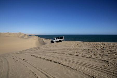 Desierto en Namibia, �frica Foto de archivo