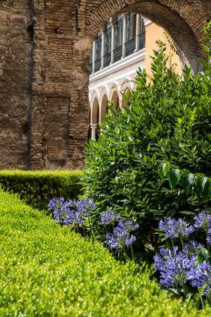 andalucia: andalucia, garden Stock Photo