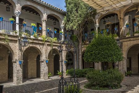 andalucia, patio Foto de archivo