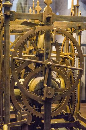 Andaluc�a, reloj antiguo de la iglesia