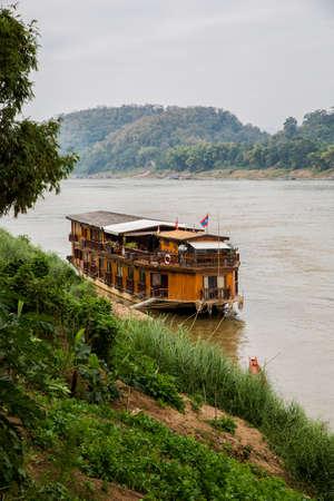 mekong: Laos, Mekong river Stock Photo