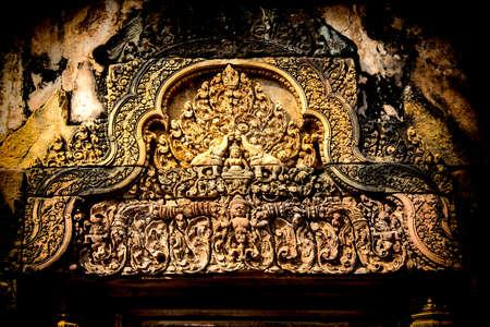 Antiguo templo de Laos