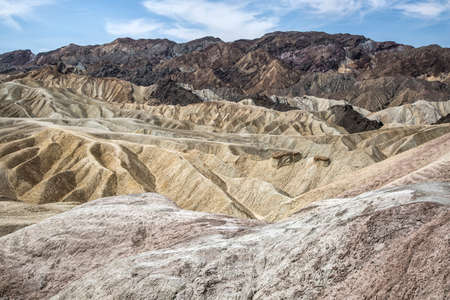 nevada: Death Valley, Nevada USA,  hills Stock Photo