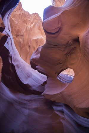 Antelope Canyon, Arizona, Navajo Land Stock Photo