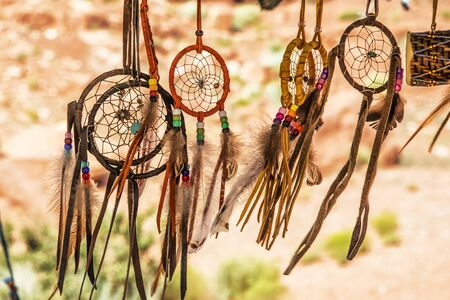 Navajo Indian amulets, Arizona Stock Photo