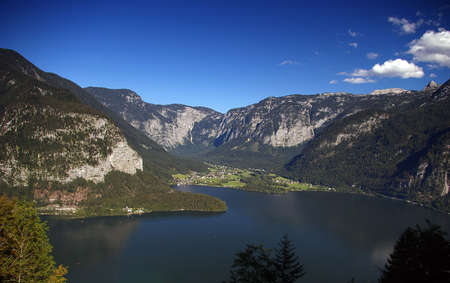 The lake of Millstatt from above