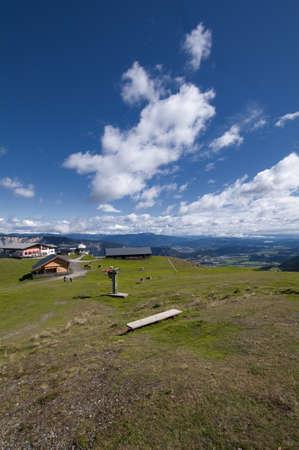 View of the Austrian Alps near Villach (Carinthia, Austria) photo