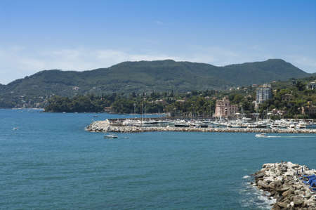 Mediterranean Sea near Rapallo  Italy