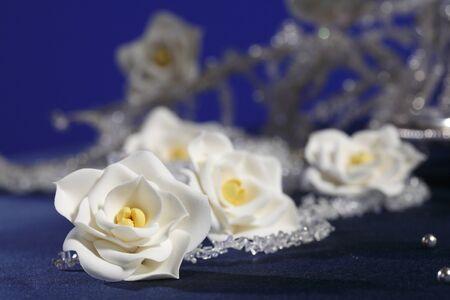 sugar paste: handmade sugar floweres (confectionery products,sugar paste)