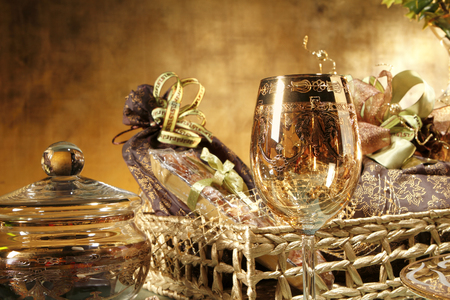 giftbasket: een kerst cadeau mand