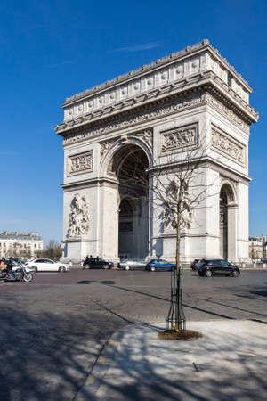 Arc de Triomphe of the Place Charles de Gaulle