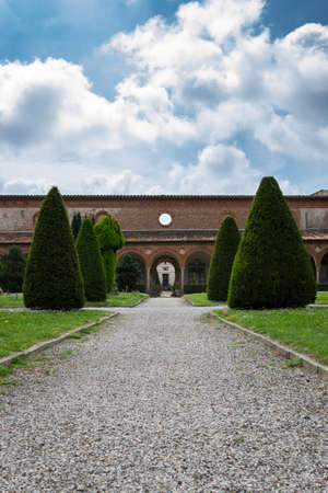 monumental: The monumental graveyard of Ferrara city