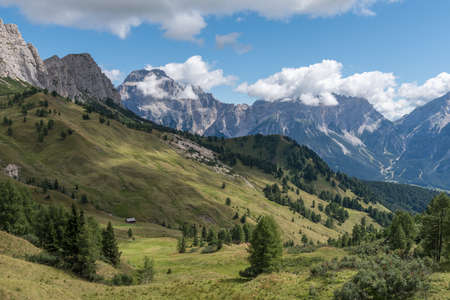 backpacking: Backpacking in the italian dolomites